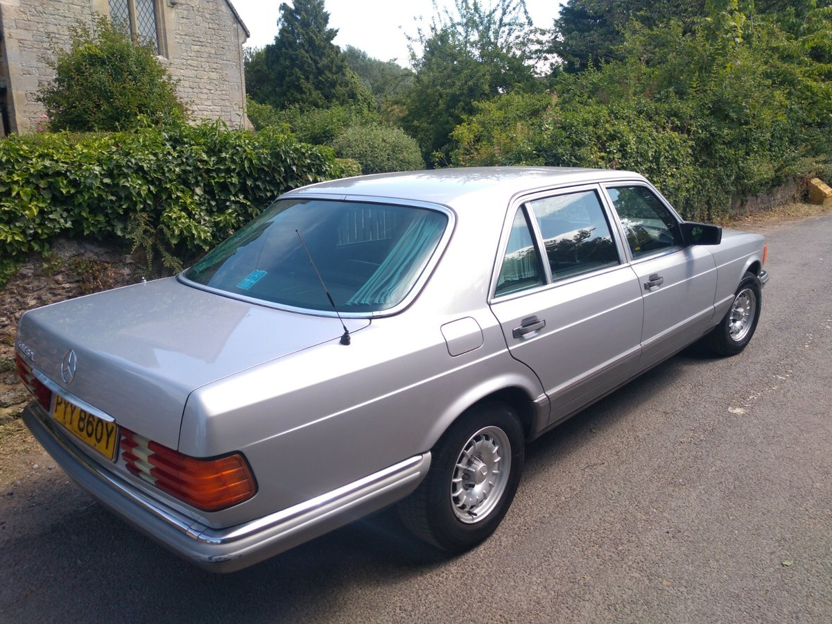 1983 Great spec & condition Mercedes 500SEL For Sale (picture 4 of 6)