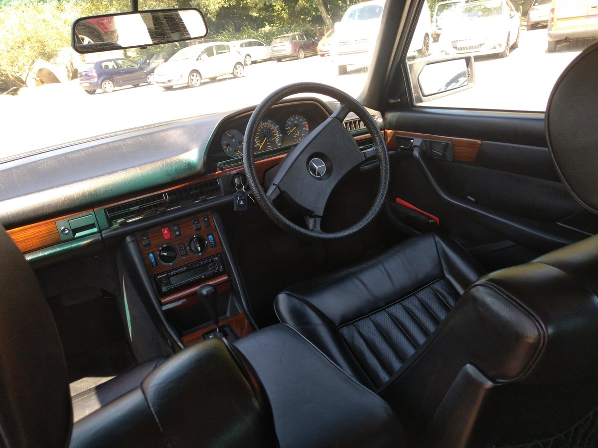 1983 Great spec & condition Mercedes 500SEL For Sale (picture 5 of 6)