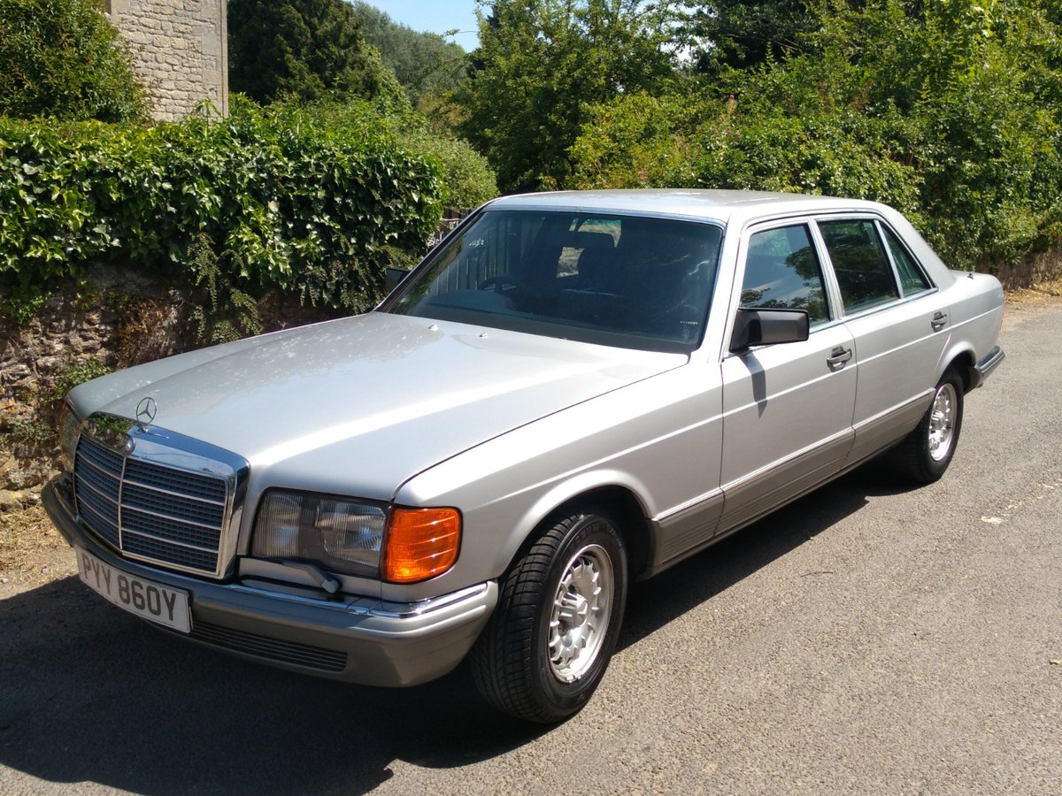 1983 Great spec & condition Mercedes 500SEL For Sale (picture 1 of 6)