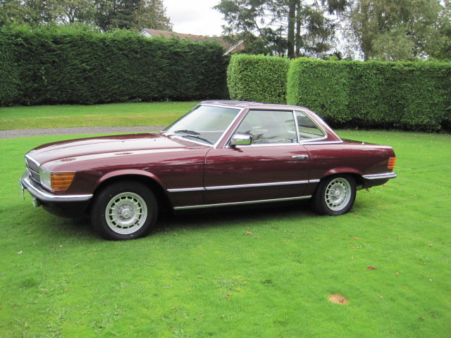 1985 Mercedes 280 SL For Sale (picture 5 of 6)