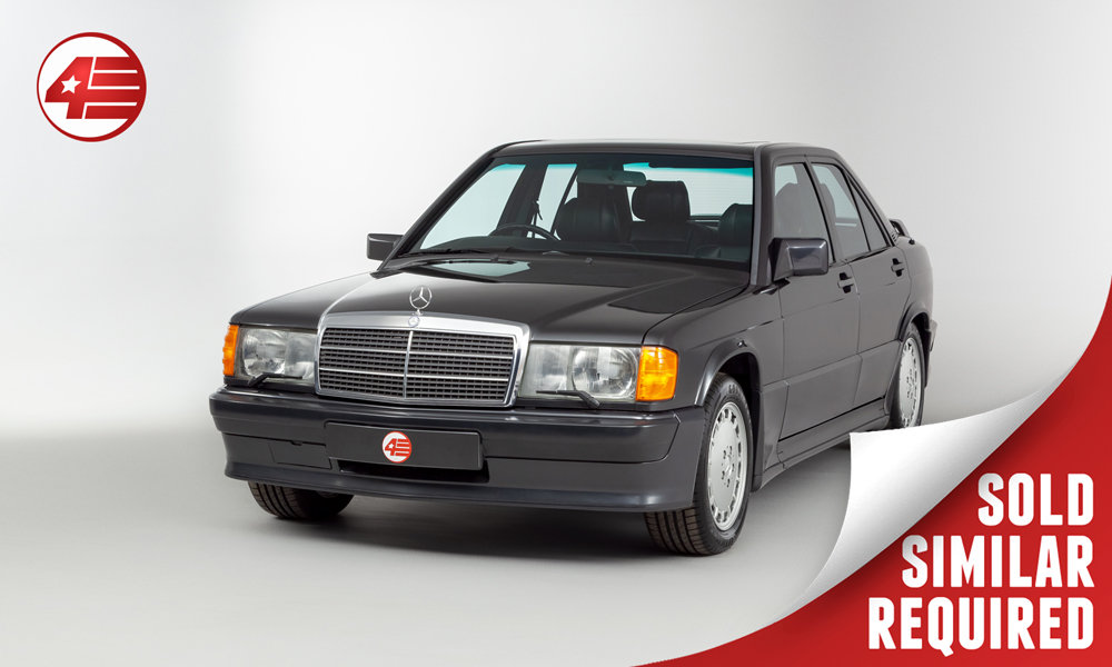 1985 Mercedes 190E 2.3-16 Cosworth /// Manual /// 44k Miles! SOLD (picture 1 of 3)