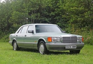 1987 Mercedes-Benz 560 SEL For Sale by Auction