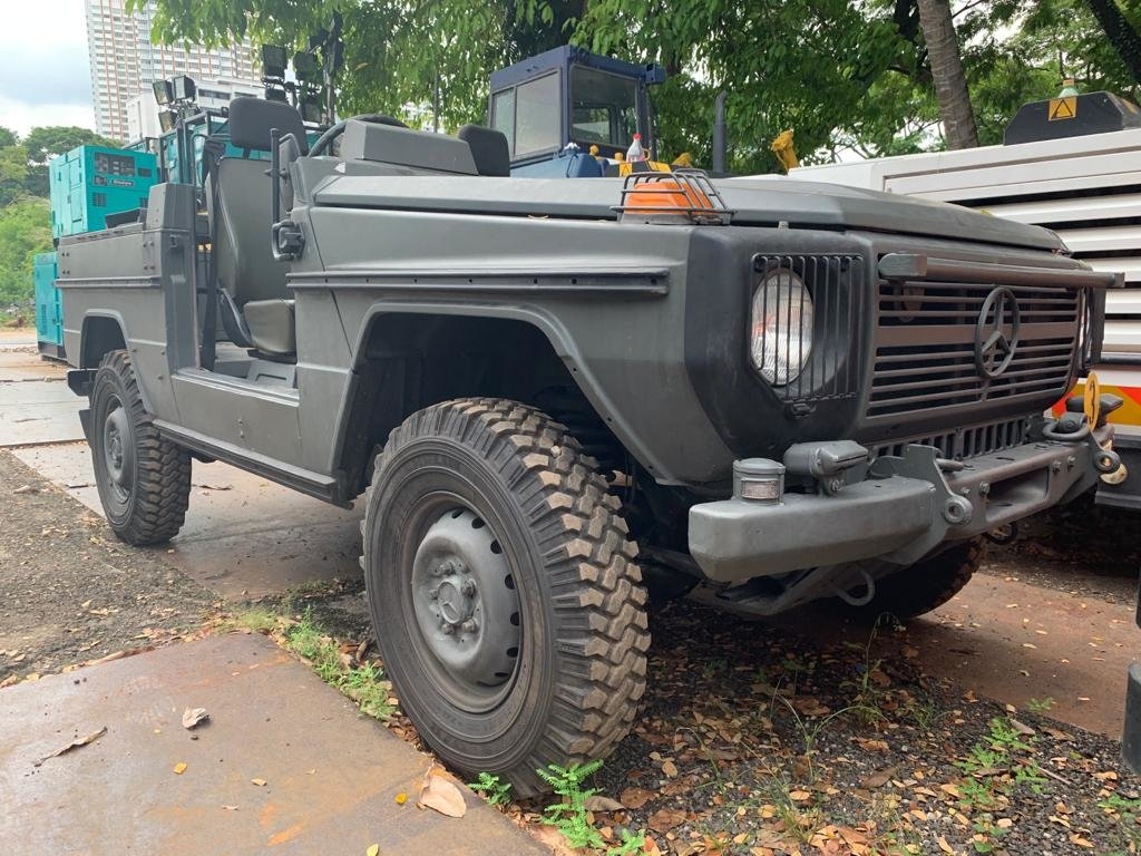 1987 MERCEDES BENZ G240 MILITARY SCOUT VEHICLE For Sale (picture 1 of 4)