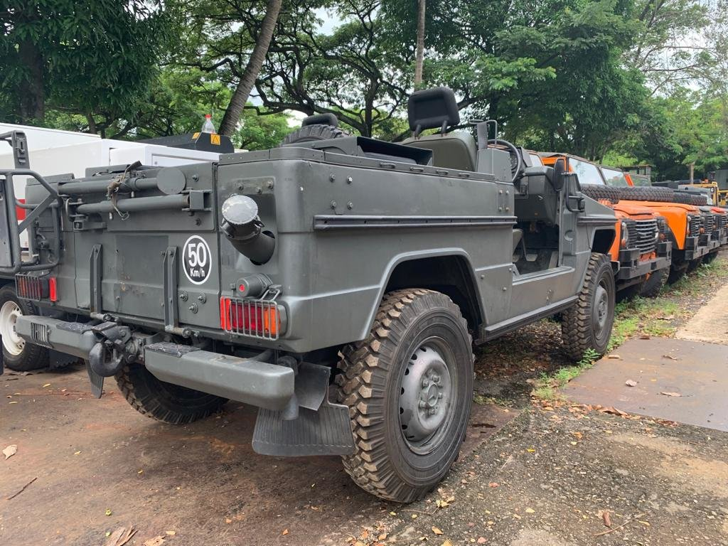 1987 MERCEDES BENZ G240 MILITARY SCOUT VEHICLE For Sale (picture 3 of 4)