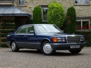 1988 Mercedes-Benz 300 SE For Sale by Auction
