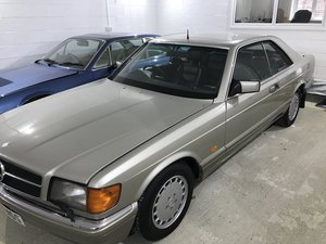 Picture of 1990 Mercedes Benz 500SEC C126 G REG