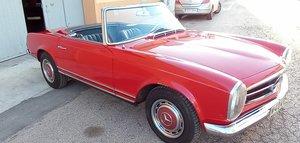 "1965 Mercedes pagoda 230 sl w113 ard top ""crash"""