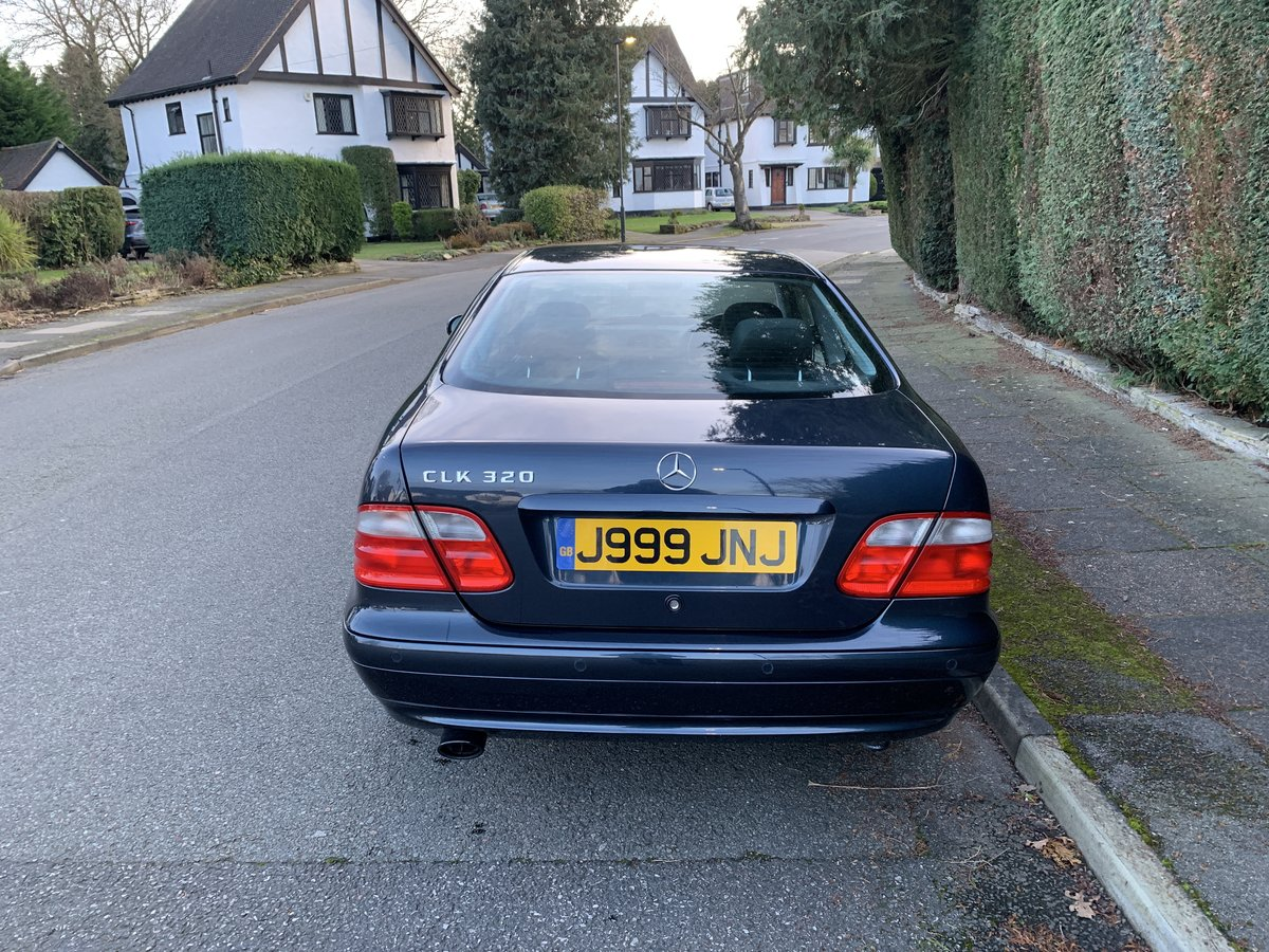 2000 Mercedes CLK320 Coupe - 1 Owner, 47k Miles, FSH For Sale (picture 2 of 6)