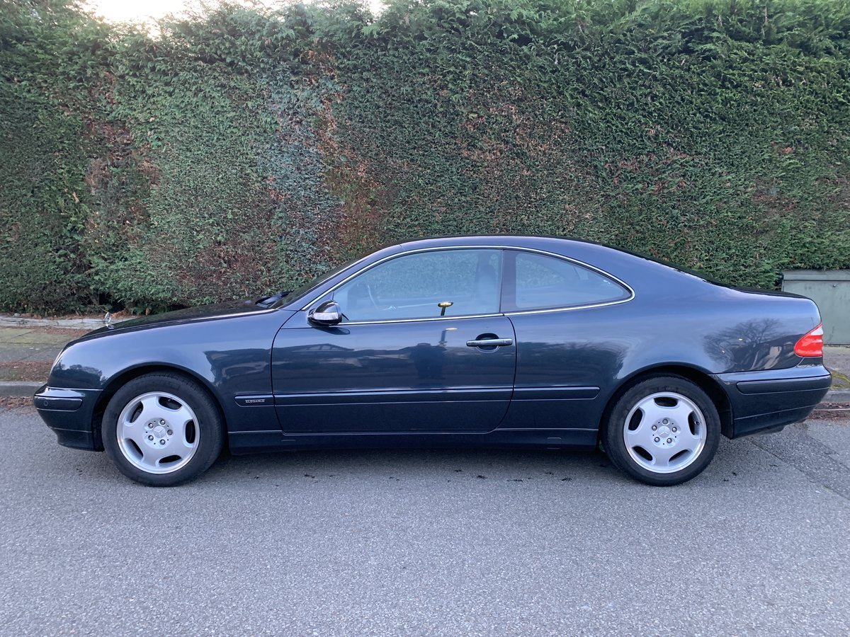 2000 Mercedes CLK320 Coupe - 1 Owner, 47k Miles, FSH For Sale (picture 3 of 6)