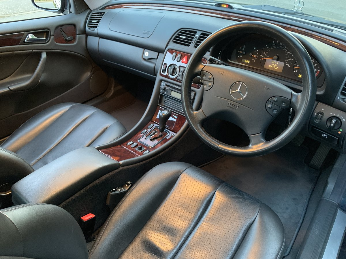 2000 Mercedes CLK320 Coupe - 1 Owner, 47k Miles, FSH For Sale (picture 5 of 6)