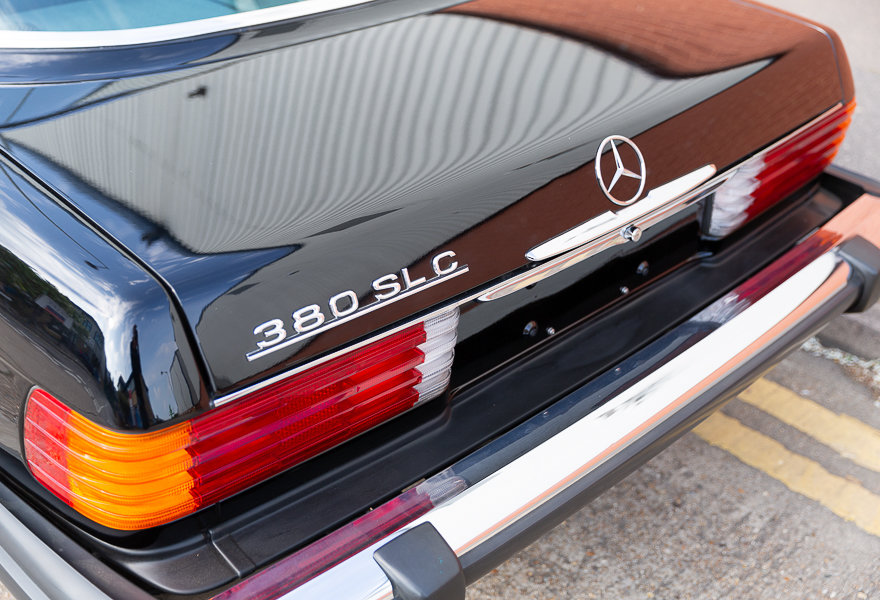 1981 Mercedes Benz 380 SLC (LHD) For Sale (picture 12 of 20)