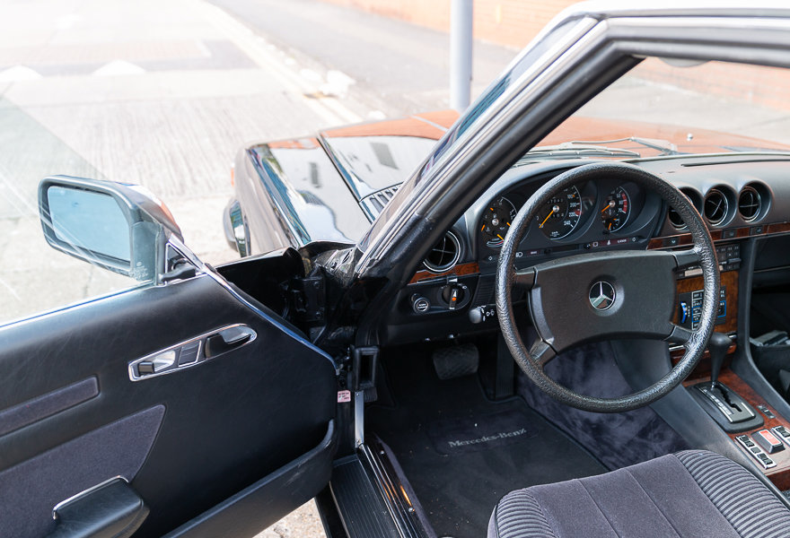1981 Mercedes Benz 380 SLC (LHD) For Sale (picture 20 of 20)
