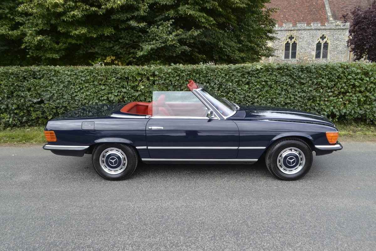 1972 Mercedes SL350 with Hardtop - recently renovated  For Sale (picture 1 of 20)