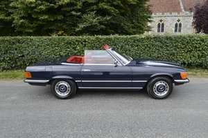 1972 Mercedes SL350 with Hardtop - recently renovated
