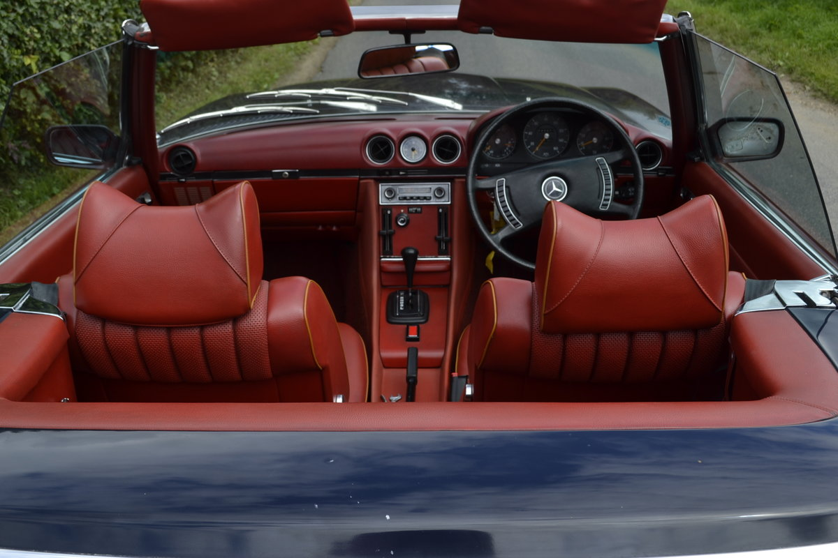 1972 Mercedes SL350 with Hardtop - recently renovated  For Sale (picture 4 of 20)