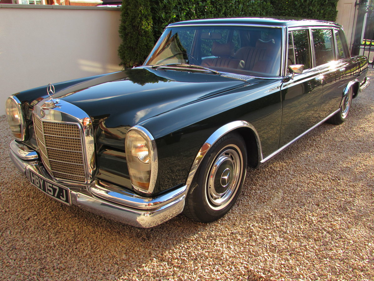1971 Mercedes W100 600 Grosser [RHD] For Sale (picture 1 of 6)