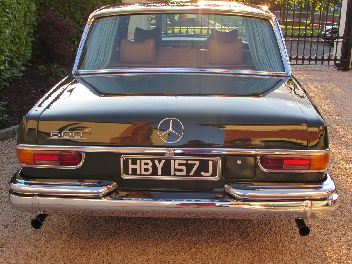 1971 Mercedes W100 600 Grosser [RHD] For Sale (picture 2 of 6)