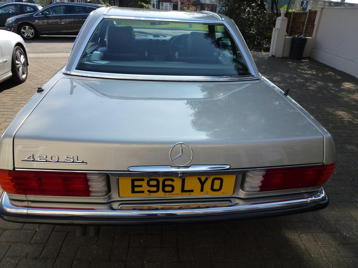 1988 420 SL Auto For Sale (picture 4 of 6)