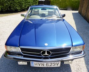 1979 Mercedes 450 SLC  ( Extensive history ) For Sale