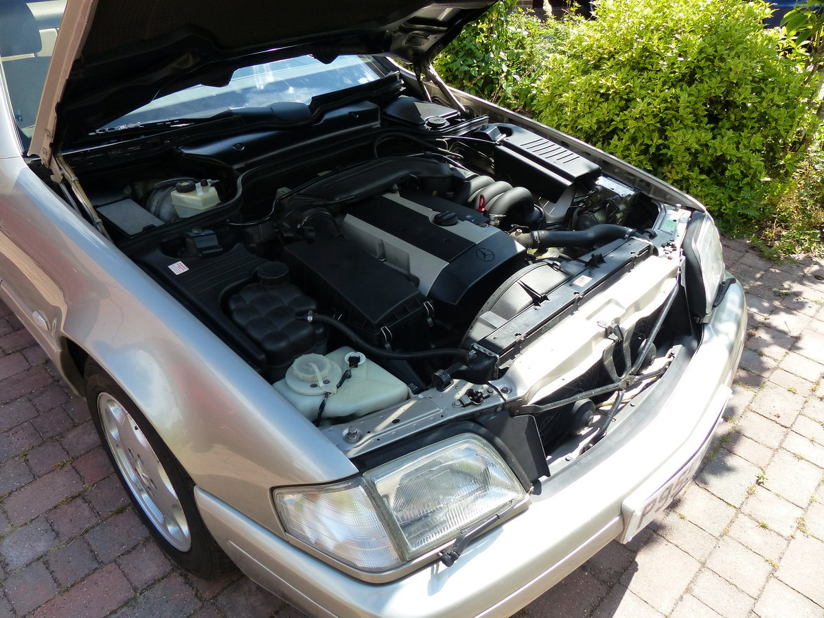 1996 Mercedes SL320 R129 Stylish & Affordable Classic For Sale (picture 6 of 6)