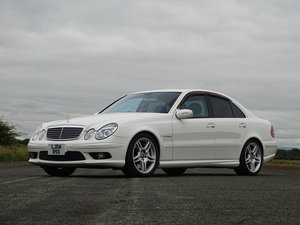 2004 Mercedes-Benz E55 AMG For Sale by Auction