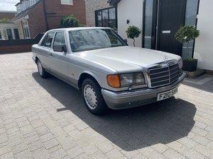 1989 MERCEDES 300 SE 75000 MILES £12950