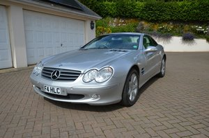 2002 Mercedes-Benz SL 500 For Sale by Auction