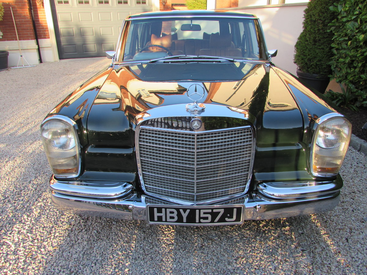 1971 Mercedes W100 600 Grosser [RHD] For Sale (picture 4 of 6)
