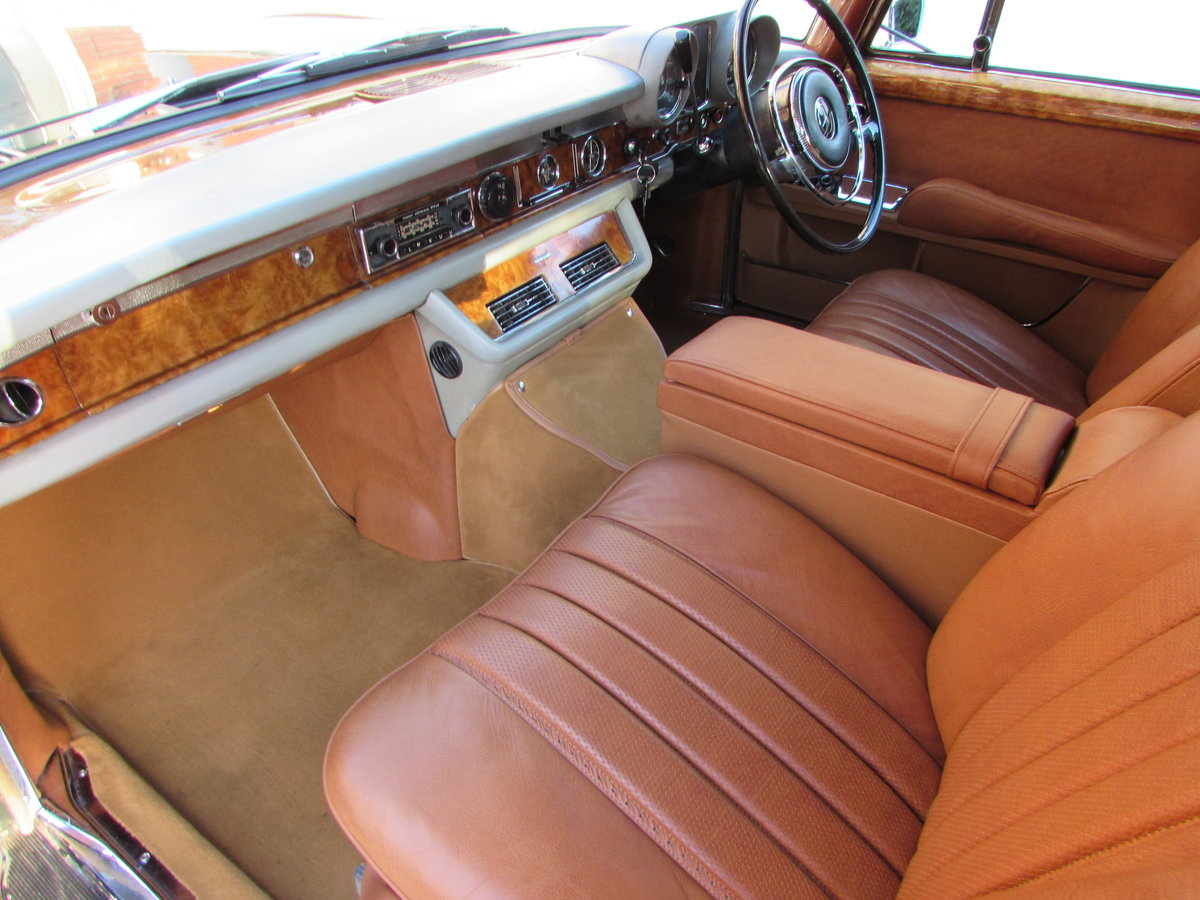 1971 Mercedes W100 600 Grosser [RHD] For Sale (picture 5 of 6)