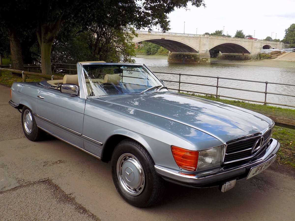 1979 Mercedes 350SL Sports Convertible - Only 67K miles from new! For Sale (picture 1 of 6)