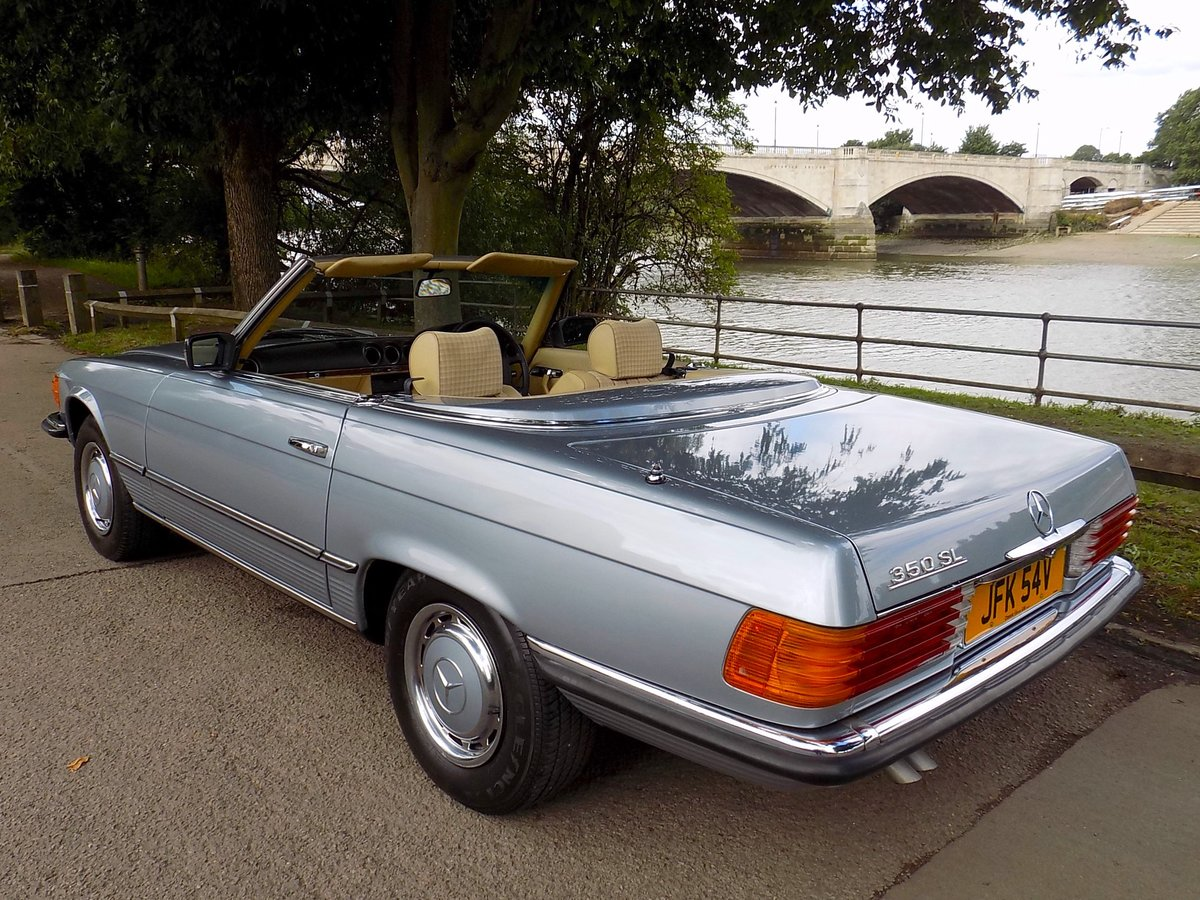 1979 Mercedes 350SL Sports Convertible - Only 67K miles from new! For Sale (picture 2 of 6)
