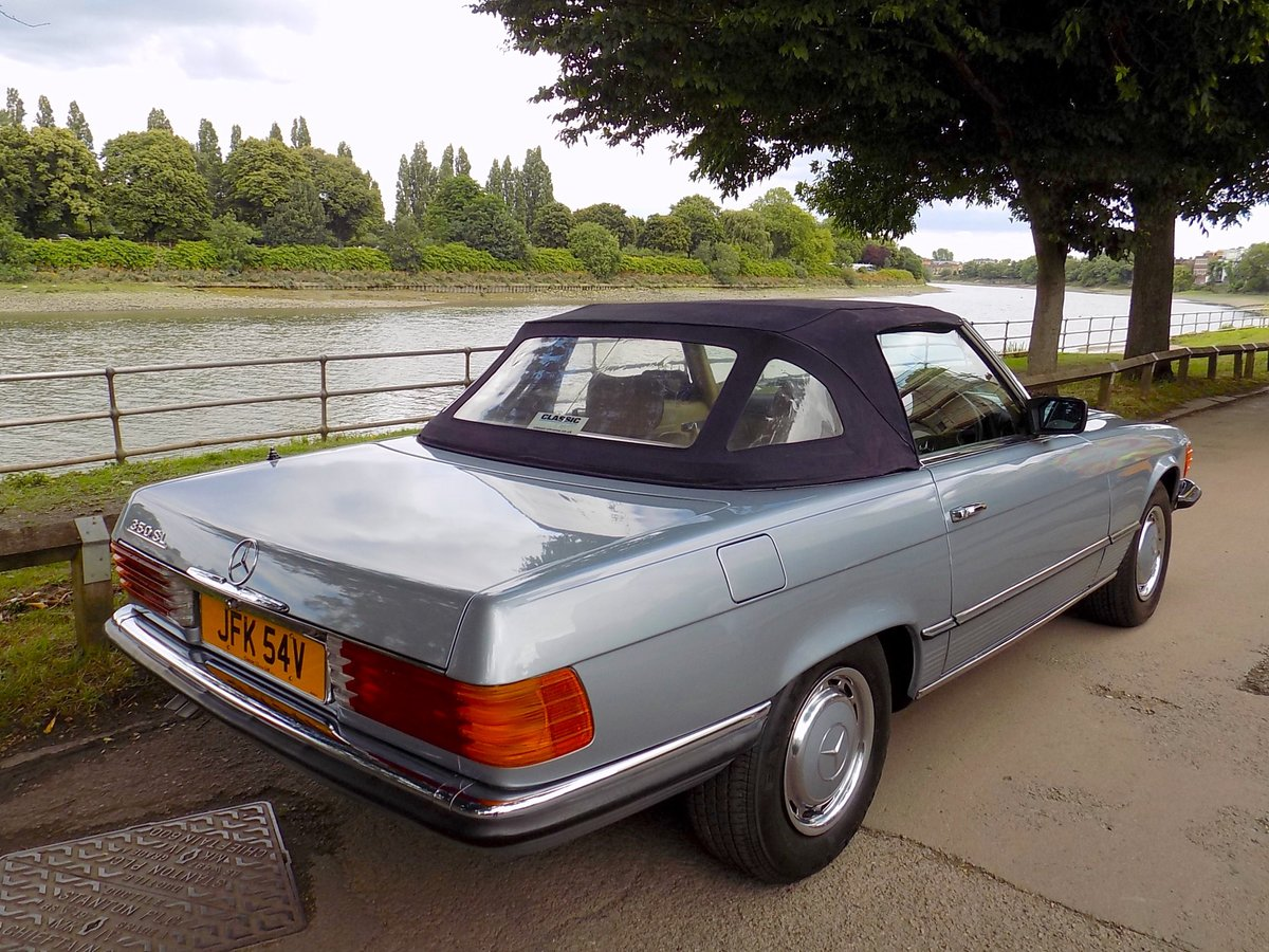 1979 Mercedes 350SL Sports Convertible - Only 67K miles from new! For Sale (picture 5 of 6)