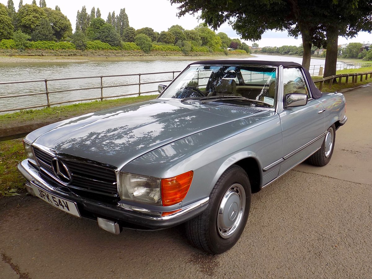 1979 Mercedes 350SL Sports Convertible - Only 67K miles from new! For Sale (picture 6 of 6)