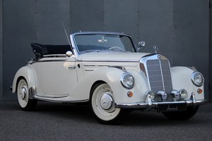 1954 Mercedes-Benz 220 Cabriolet A LHD For Sale