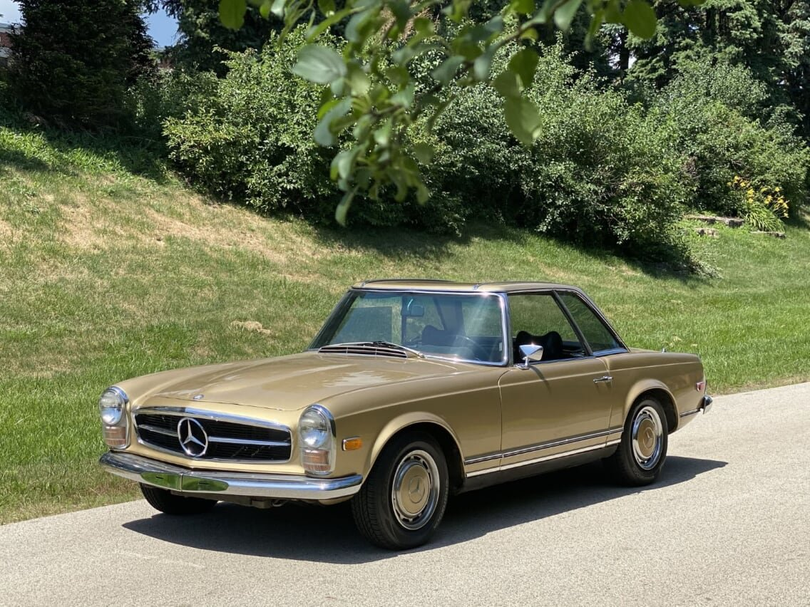 #23392 1969 Mercedes-Benz 280SL For Sale (picture 1 of 6)