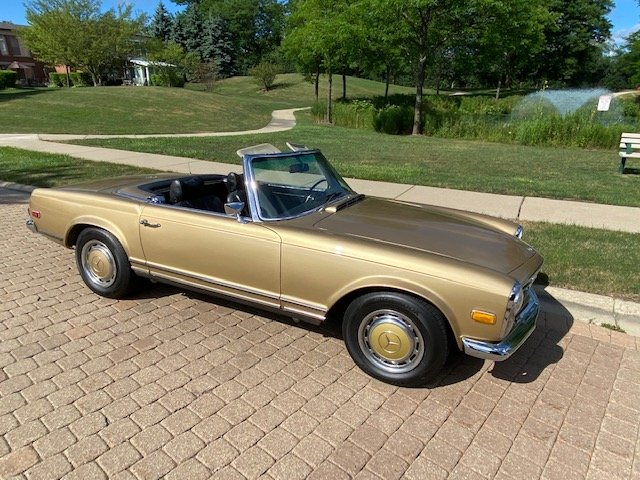 #23392 1969 Mercedes-Benz 280SL For Sale (picture 3 of 6)