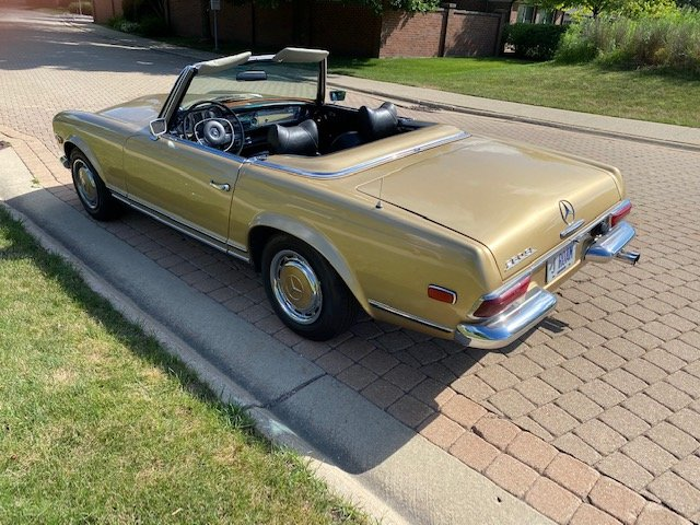 #23392 1969 Mercedes-Benz 280SL For Sale (picture 4 of 6)
