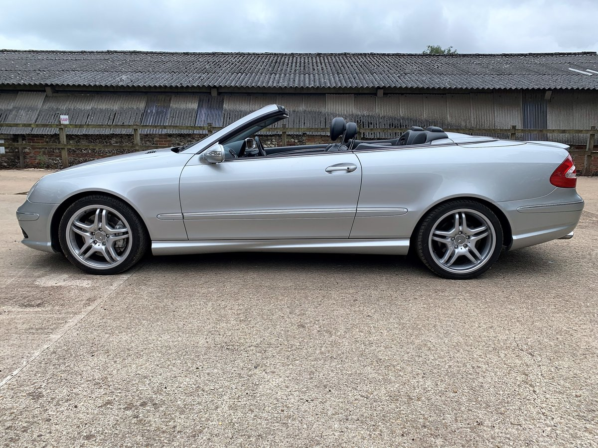 2003 Mercedes CLK55 AMG Convertible+lovely condition For Sale (picture 4 of 6)