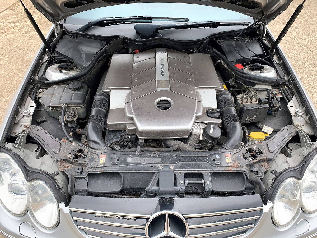 2003 Mercedes CLK55 AMG Convertible+lovely condition For Sale (picture 6 of 6)