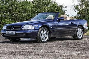 1998 Mercedes-Benz SL320 V6 (R129) with Saffron Nappa Leather For Sale