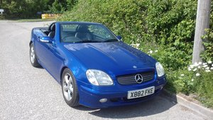 2000 SLK 320 Outstanding condition and low mileage