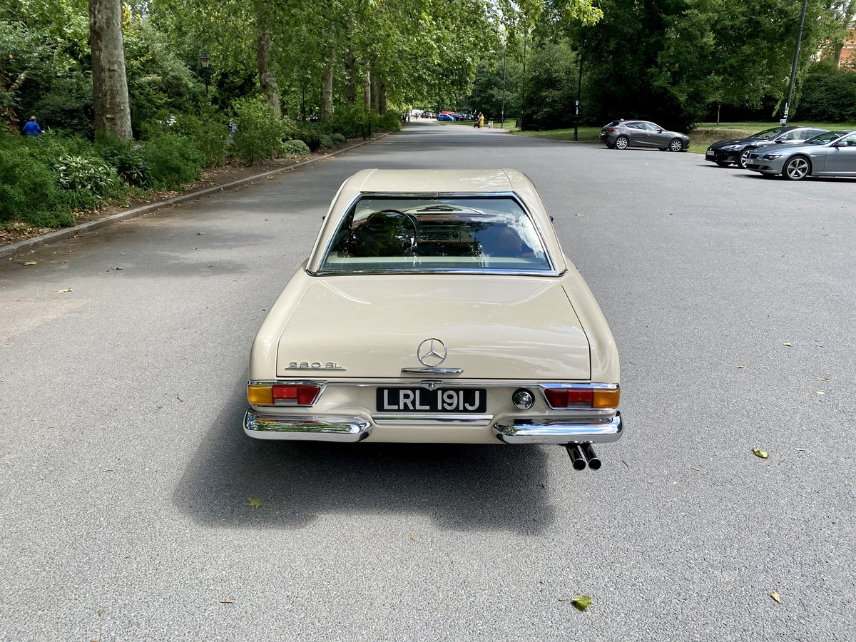 1970 Mercedes-Benz 280 SL 'Pagoda' For Sale (picture 23 of 24)