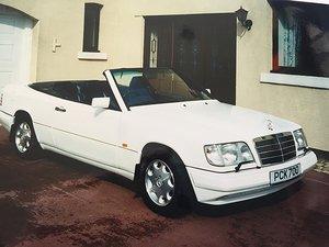 1994 MERCEDES E320 SPORTLINE 4 SEATER AUTO CONVERTIBLE For Sale