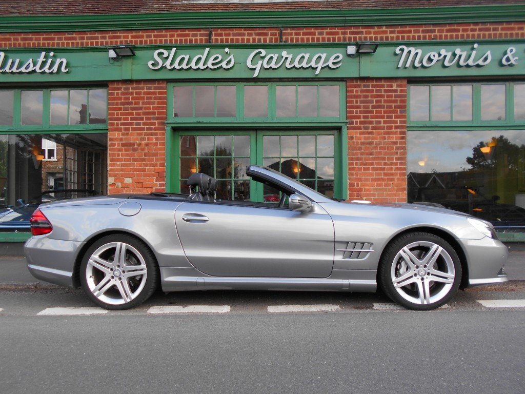 2011 Mercedes SL500  SOLD (picture 1 of 4)