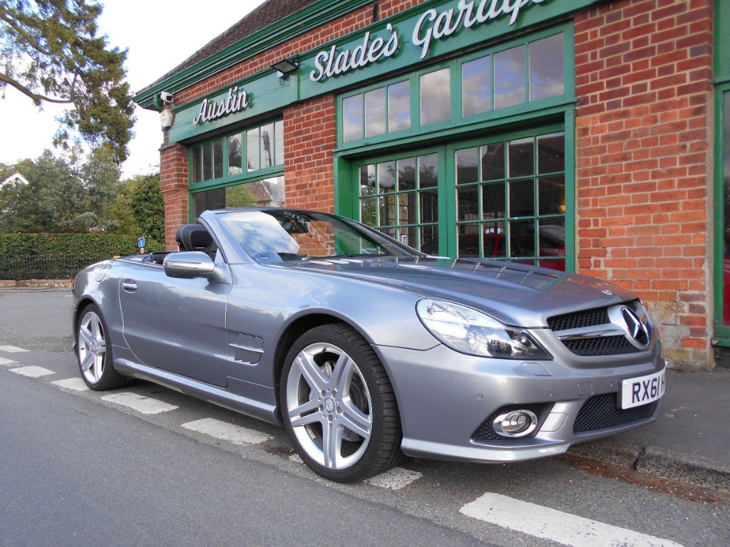 2011 Mercedes SL500  SOLD (picture 2 of 4)