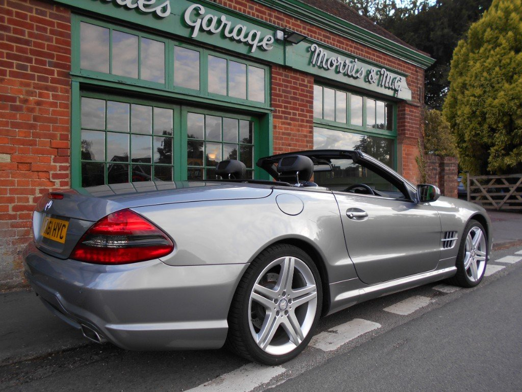 2011 Mercedes SL500  SOLD (picture 3 of 4)