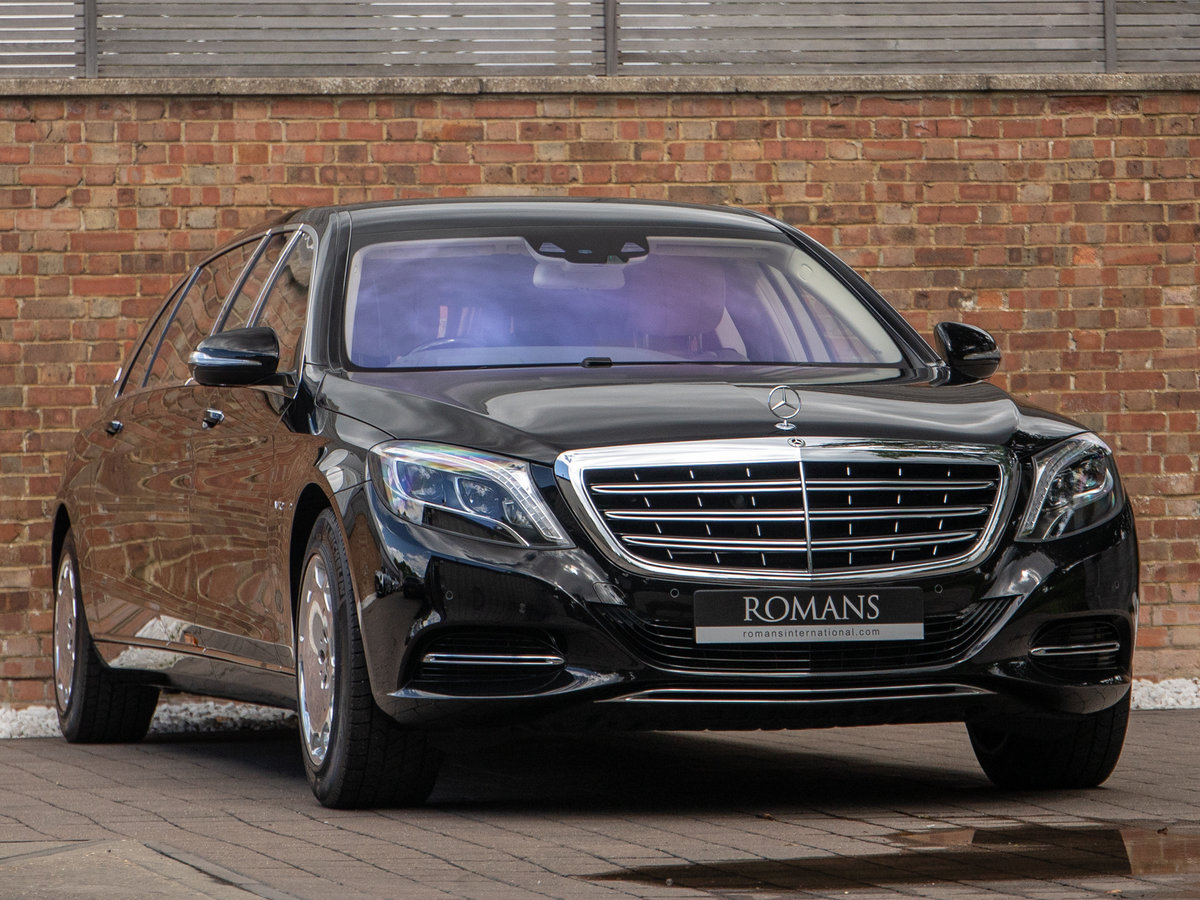 2018 Mercedes S 600 Pullman SOLD (picture 1 of 6)