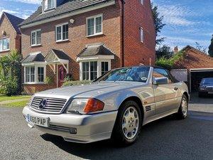 1993 Mercedes Benz SL500 R129 Silver