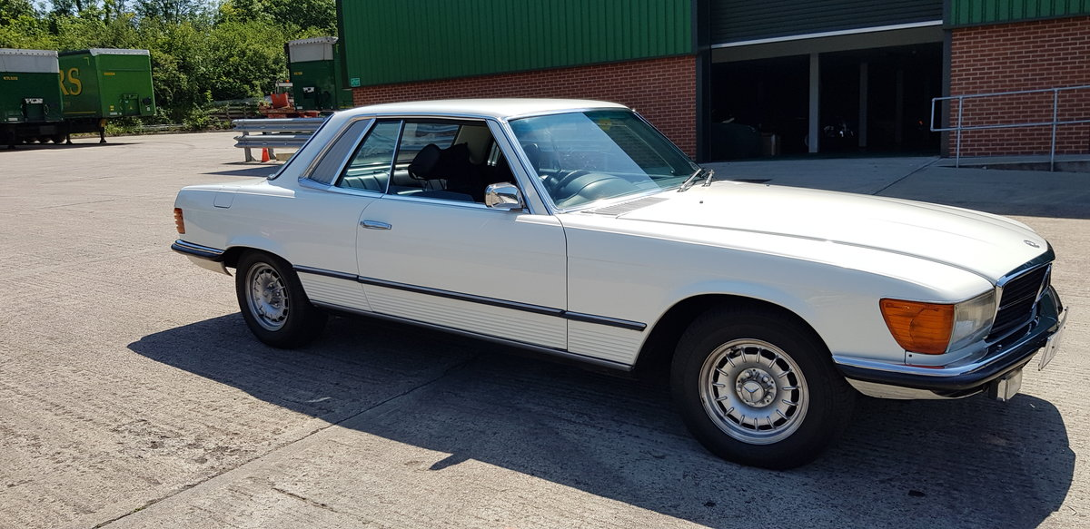 1975 Mercedes 280 SLC  GENUINE LOW MILEAGE COUPE For Sale (picture 1 of 6)