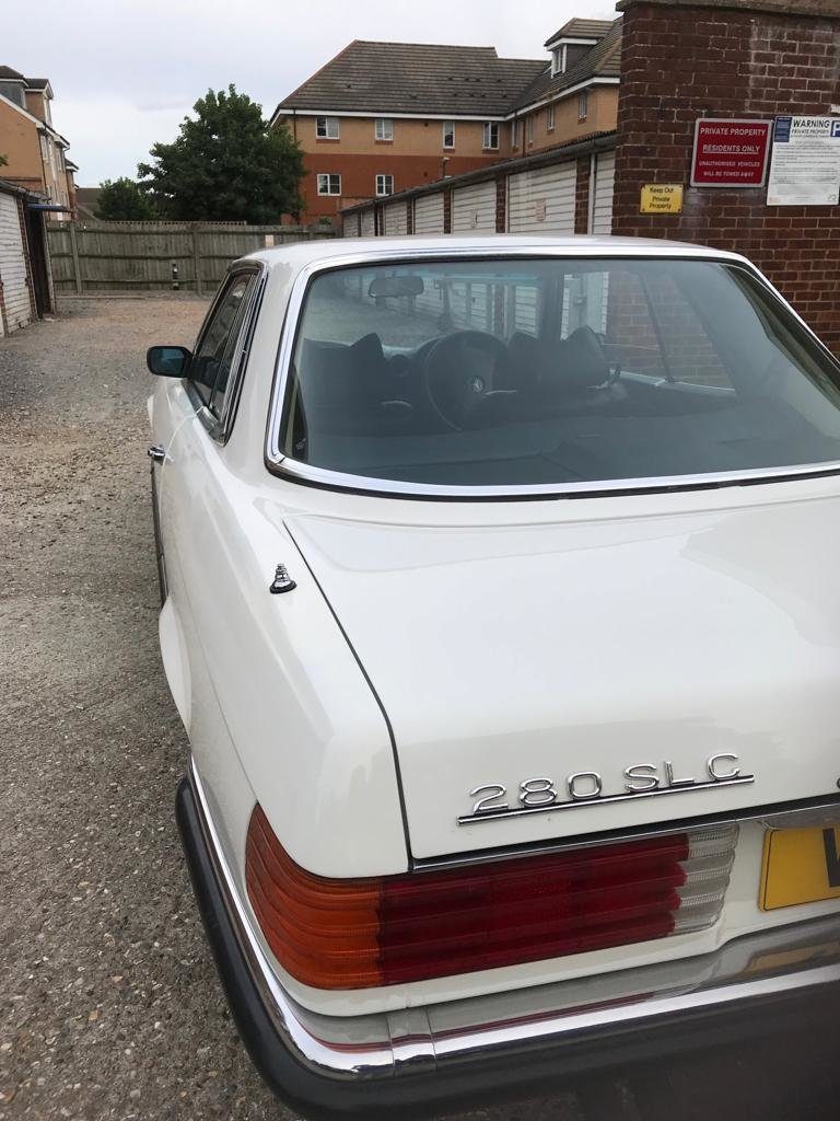 1975 Mercedes 280 SLC  GENUINE LOW MILEAGE COUPE For Sale (picture 2 of 6)